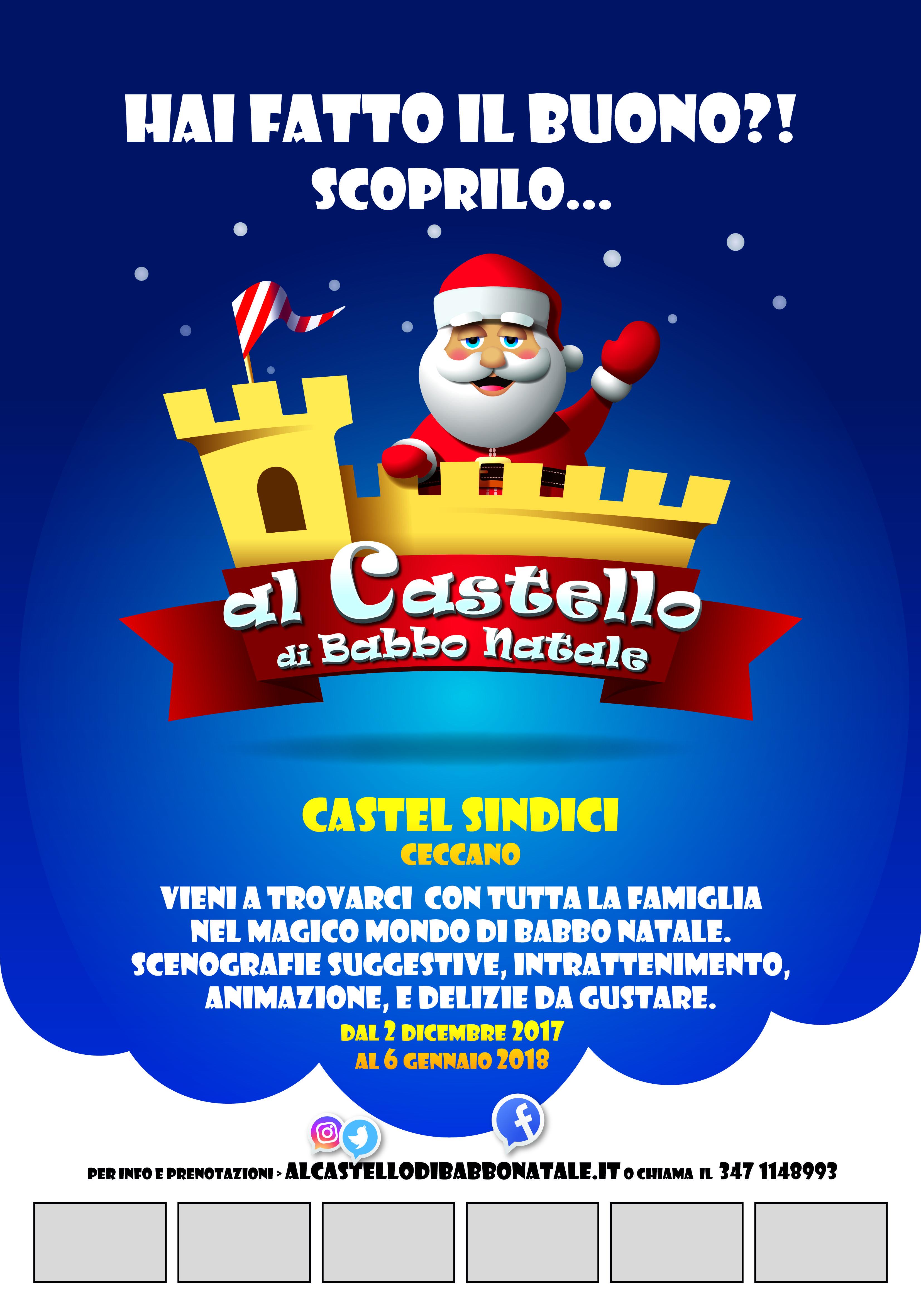 Percorso Babbo Natale.Al Castello Di Babbo Natale Un Percorso Nel Magico Mondo Di Babbo