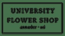 University Flower Shop logo