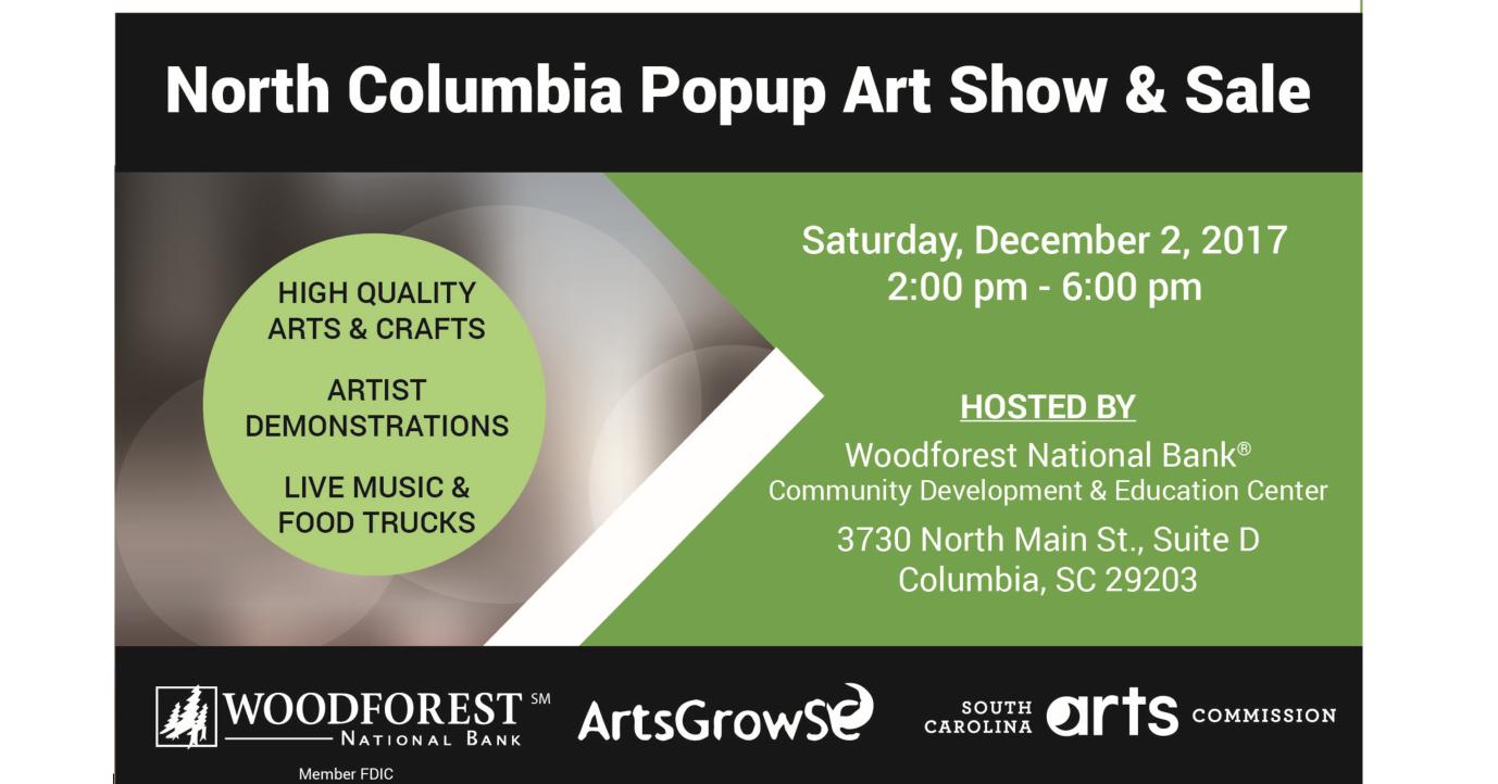 North Columbia Popup Art Show & Sale