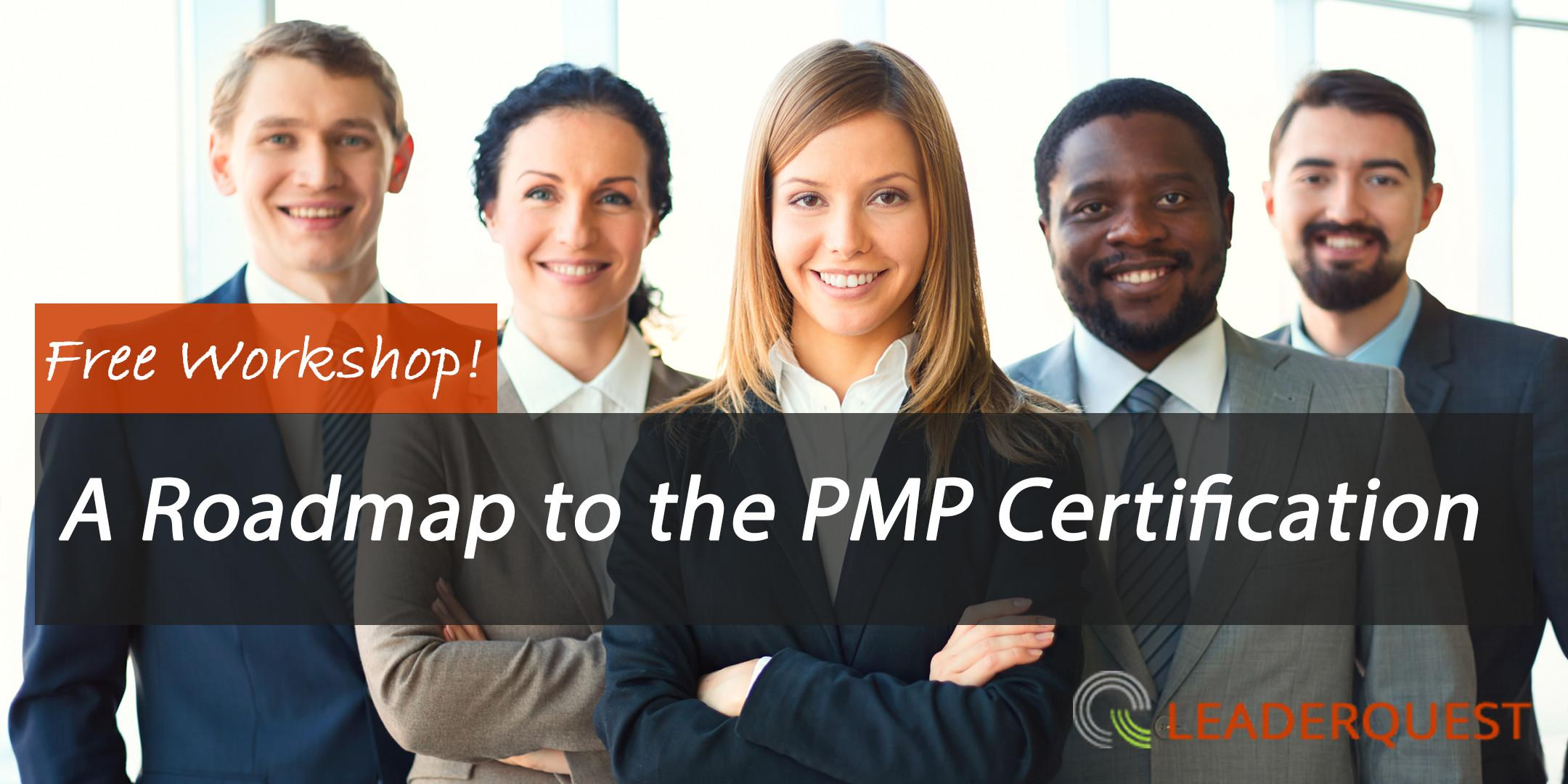 A Roadmap to the PMP Certification [Free Work