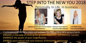 Step Into The New YOU now 2018! Personally. Life. In...