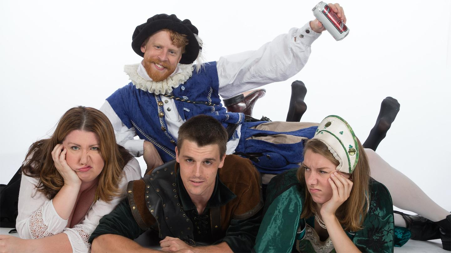 """Sh!t-Faced Shakespeare presents: """"Much Ado About Nothing"""""""