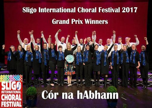 Sligo International Choral Festival Competitions 16th - 18th November 2018
