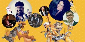 "Disney's Jazz im 4tel ""Mein wunderbarer Klang Salon"""