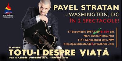 Pavel Stratan la Washington, DC - 8:30 pm Show
