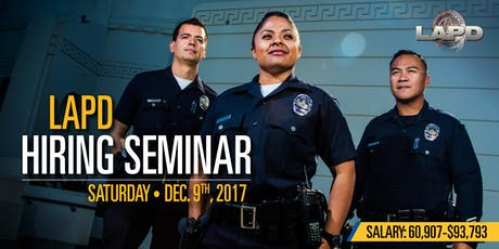 LAPD Recruitment Events | Eventbrite