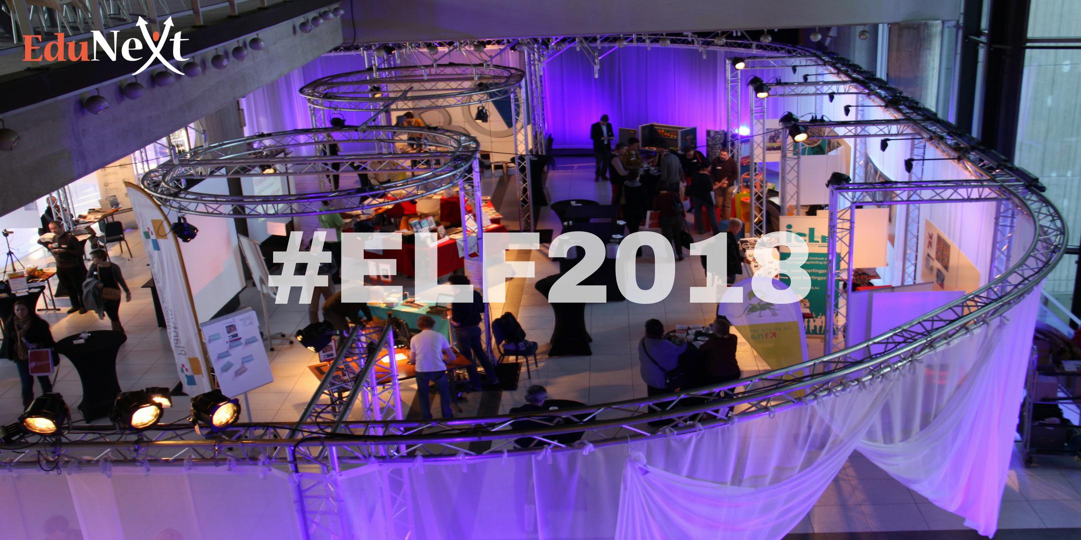 EduNext Leerfestival 2018    #ELF18