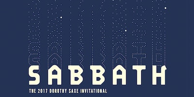 Sabbath: The 2017 Dorothy Saxe Invitational Awards—Discussion and Reception