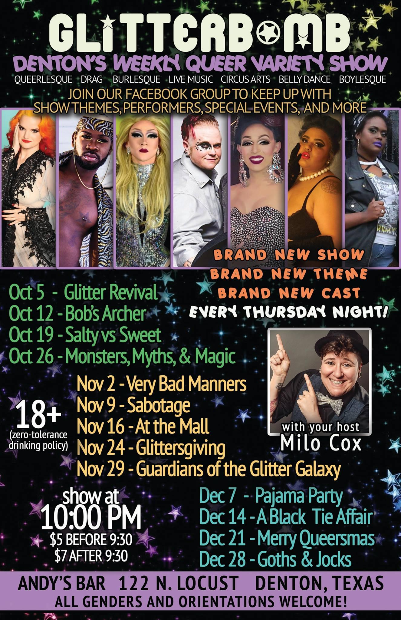 Glitterbomb: Goths and Jocks