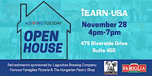 iEARN-USA Open House on #GivingTuesday