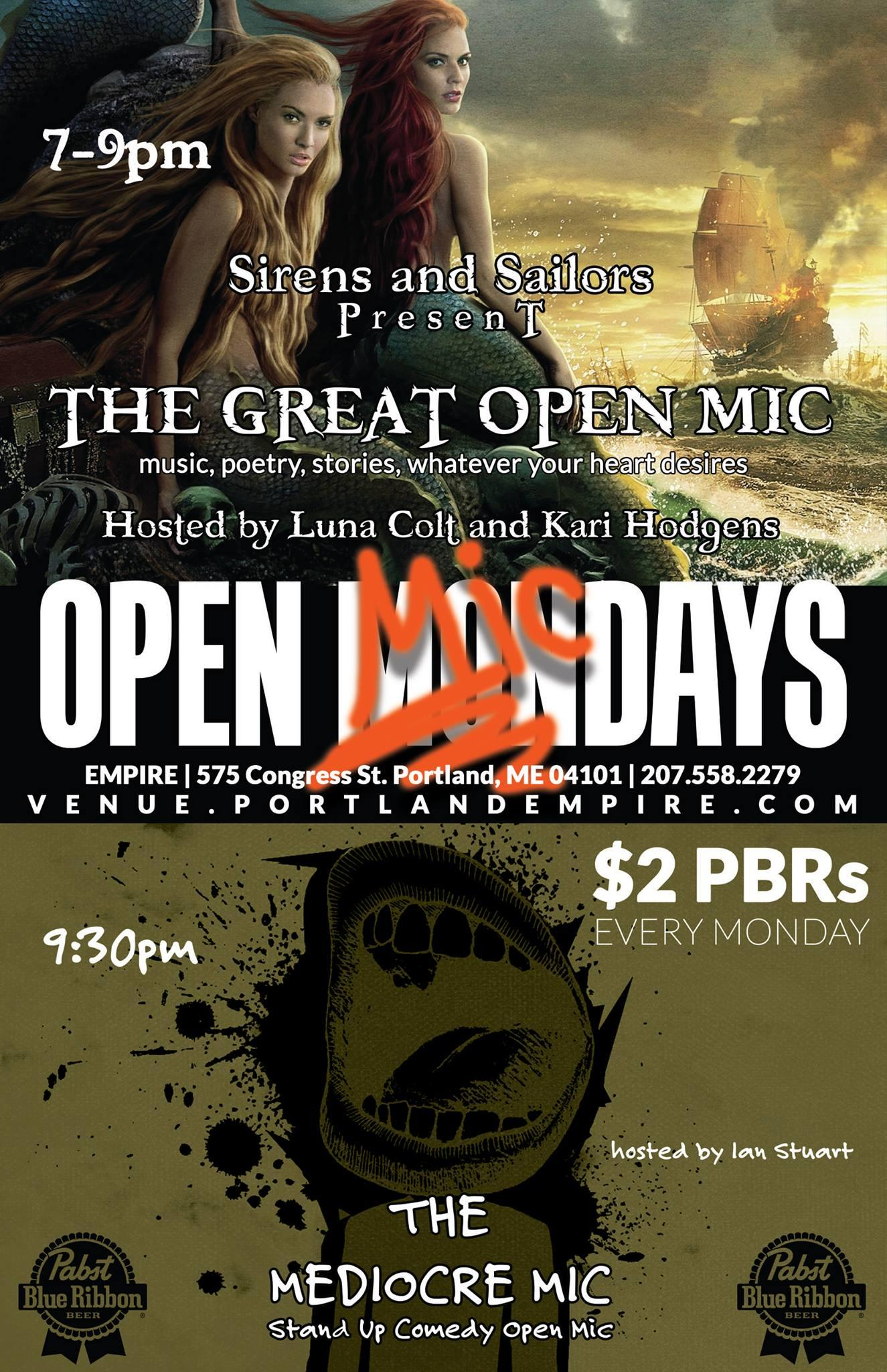 Open Micdays!