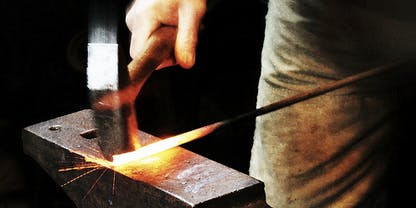 FORGED IN FIRE - Artist-Blacksmith Demonstration