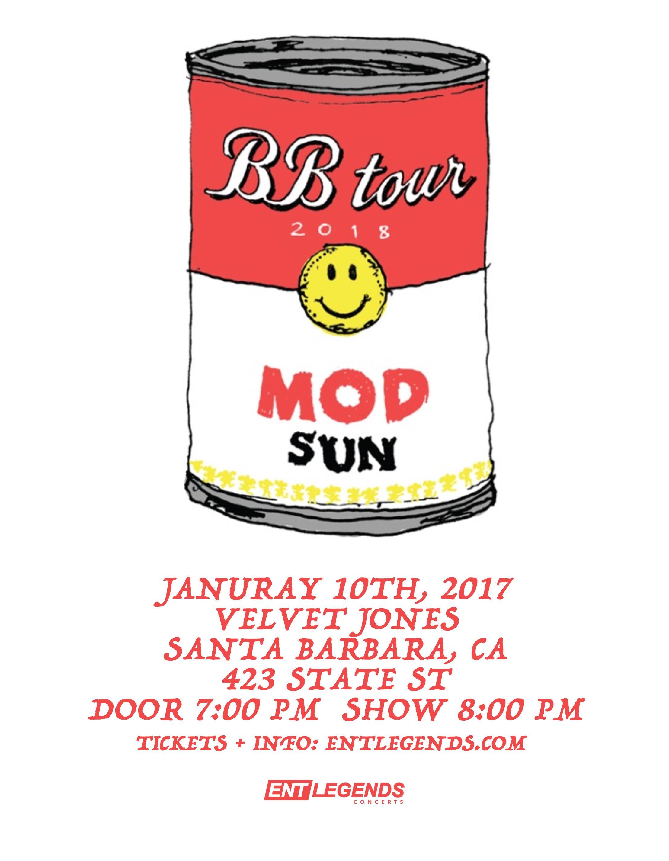 MOD SON - THE BB TOUR