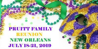 PRUITT FAMILY REUNION NEW ORLEANS 2019