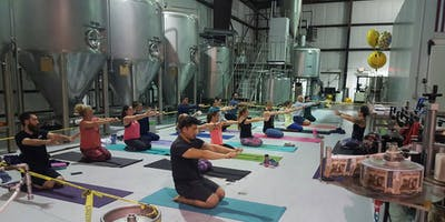Yoga at Rinn Duin Brewery