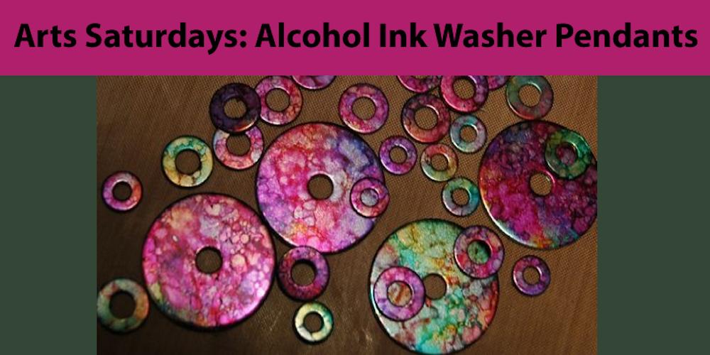 Arts saturdays alcohol ink washer pendants tickets sat dec 9 arts saturdays alcohol ink washer pendants tickets sat dec 9 2017 at 1030 am eventbrite aloadofball Choice Image