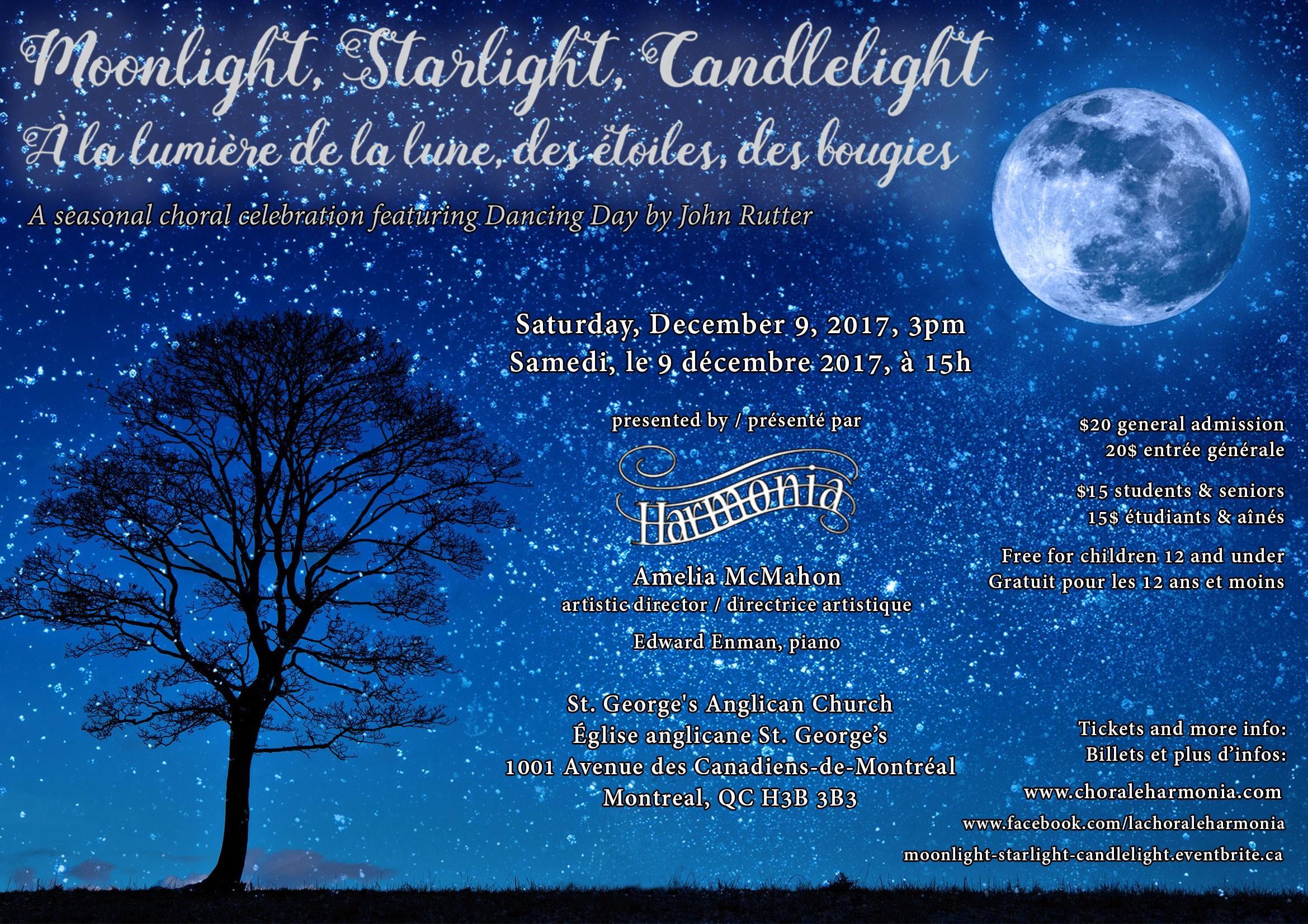 Moonlight Starlight Candlelight