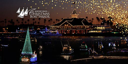Newport Beach Christmas Parade Cruise On A Luxury Yacht First Drink Free
