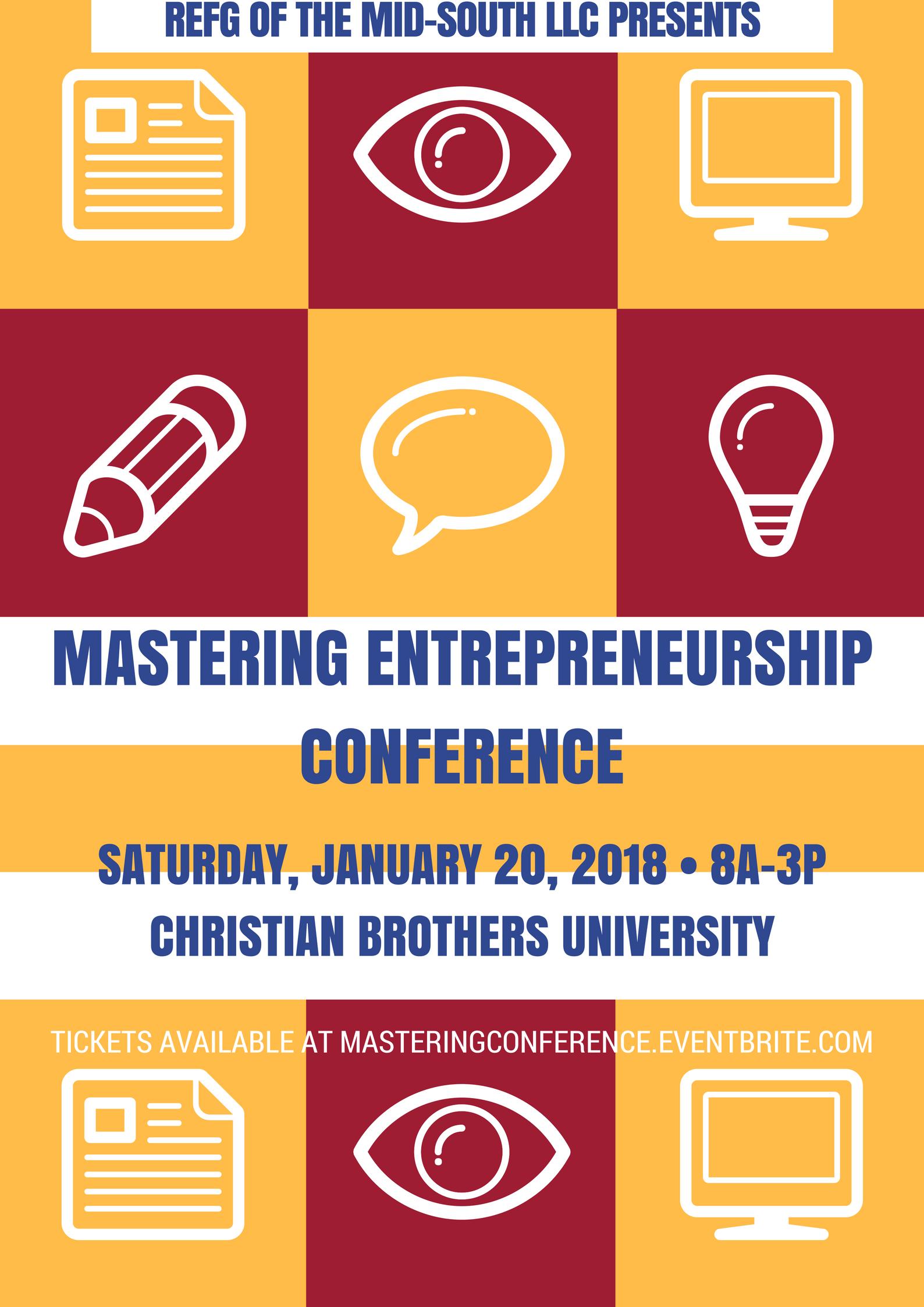 Mastering Entrepreneurship Conference