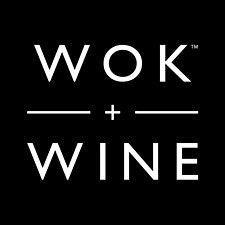 Wok+Wine logo