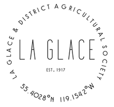 La Glace & District Agricultural Society logo