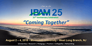 IBAM 25 CONFERENCE: AUGUST 2-4, 2018