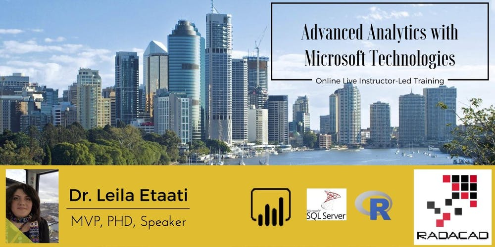 Advanced Analytics And Machine Learning Brisbane May 2018 Tickets