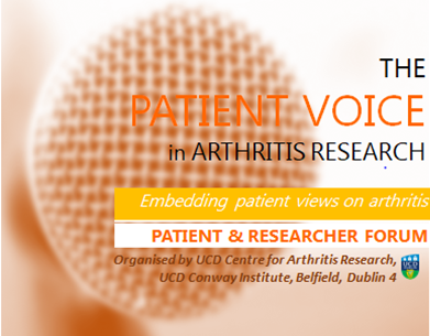 The Patient Voice in Arthritis Research