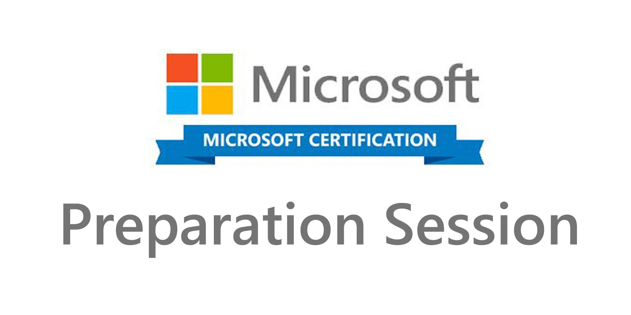 Preparation To The Microsoft Certification 7 Bruxelles 270318