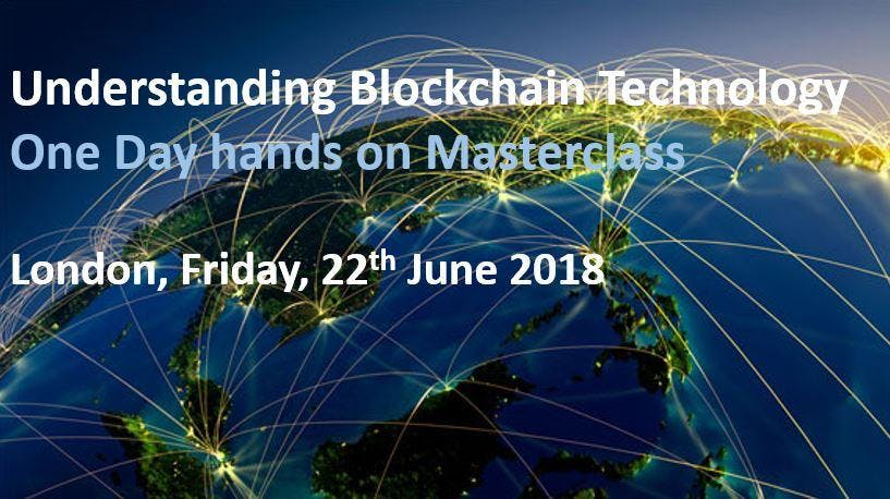 Blockchain Technology Masterclass- 1 Day Trai