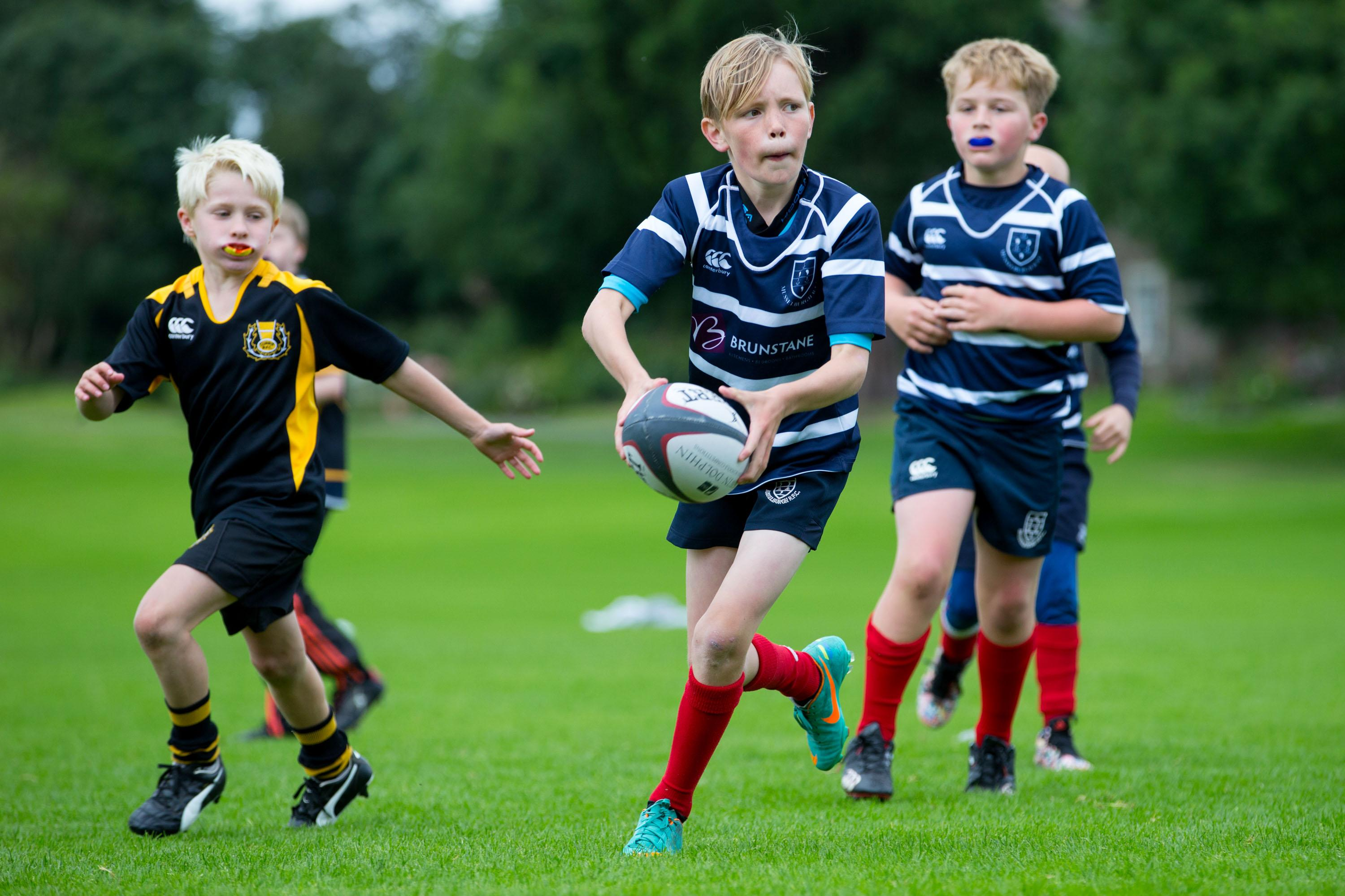 Technical Blueprint: Mini Rugby Workshop (P6-7) - West of Scotland FC