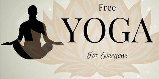 FREE VINYASA YOGA CLASS EVERY WEDNESDAY 2nd FLOOR GYMNASIUM
