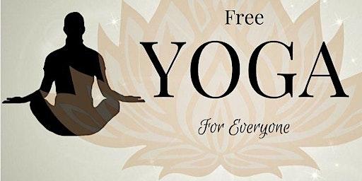 FREE VINYASA YOGA CLASS EVERY WEDNESDAY 2nd FLOOR GYMNASIUM