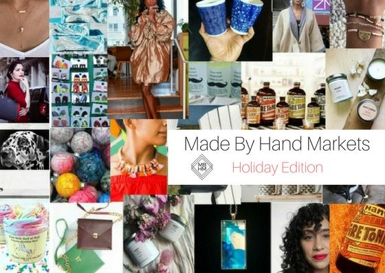Made By Hand Markets-Holiday Edition!