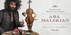 Ara Malikian en Lleida. La Increíble Gira Mundial de...