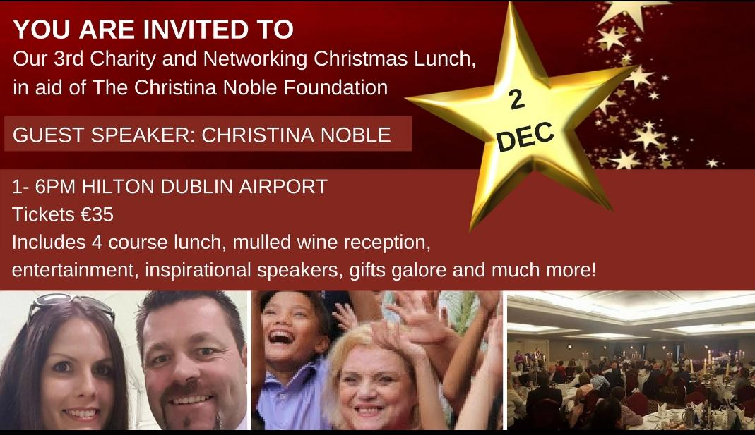 3rd Annual Christmas Networking Charity Lunch