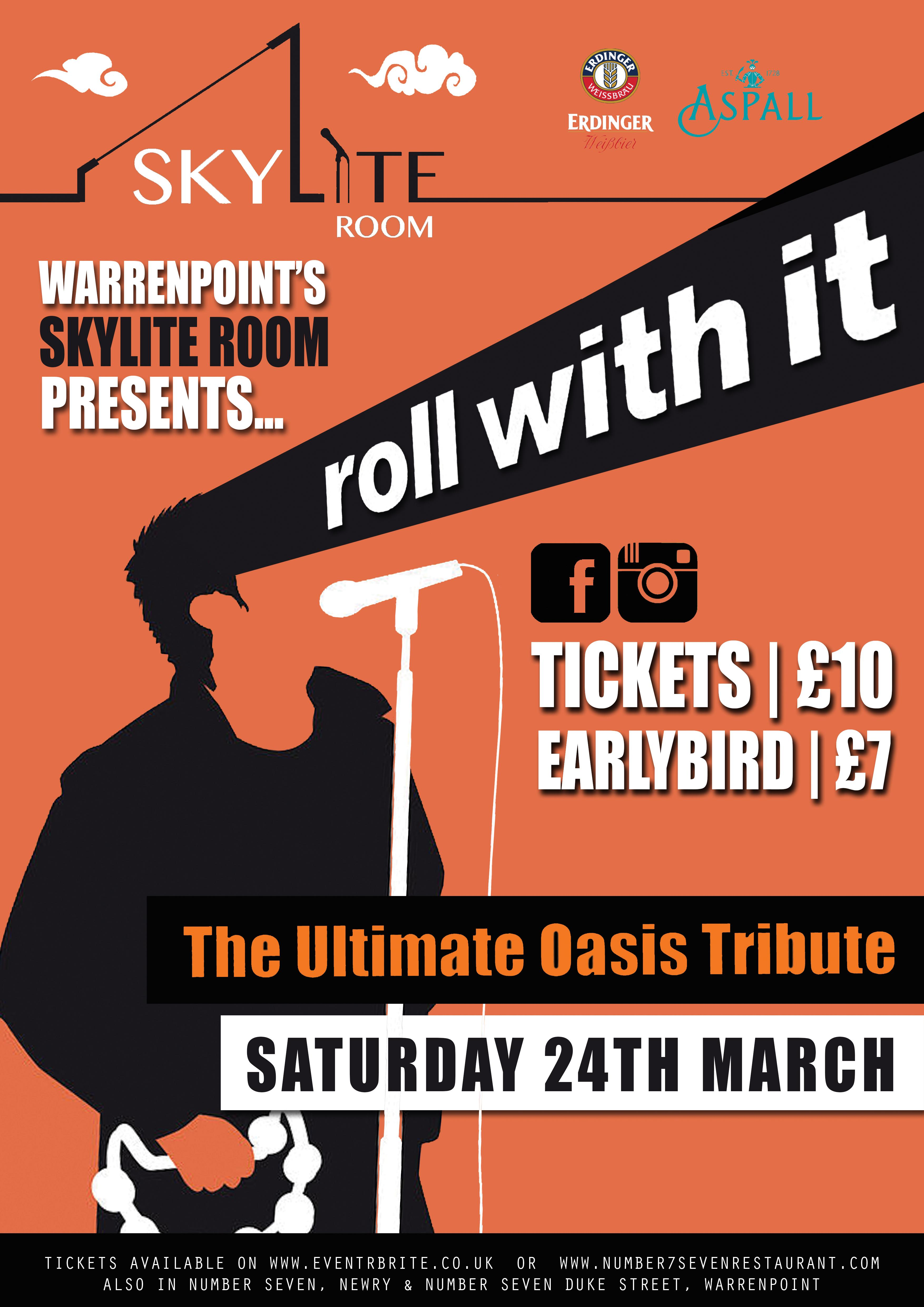 Roll With It 'The Ultimate Oasis Tribute'