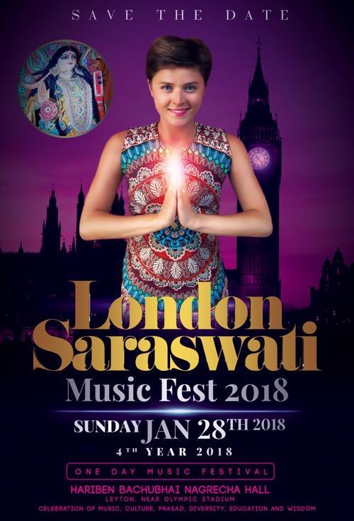 London Saraswati Music Fest 2018.