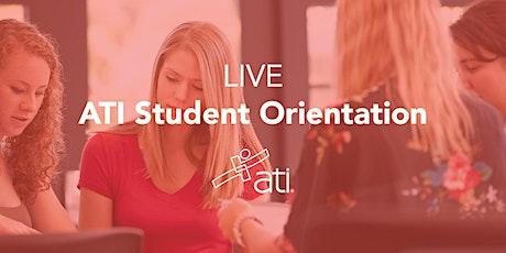 Live ATI Student Orientations 2020 (Monday's @2p CST) tickets