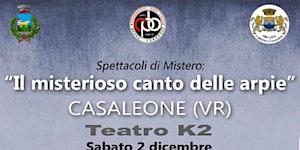 ll misterioso canto delle arpie | Veneto Spettacoli di...