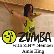 Thursday - 6.10 pm - 7.10 pm - Zumba® with Amie - Gillingstool Primary School, Thornbury