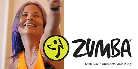 SUSPENDED UNTIL FURTHER NOTICE - Monday - 6 pm - 7pm - Zumba® with Amie -Turnberries Community Centre, Thornbury tickets