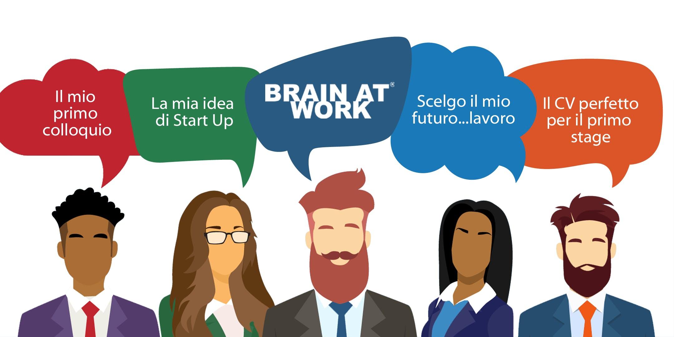 Career Day - Coffee Job Brain at Work Cosenza