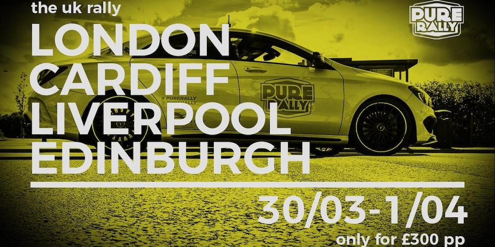 Pure Rally UK 2018 Tickets, Fri, 30 Mar 2018 at 11:00 | Eventbrite
