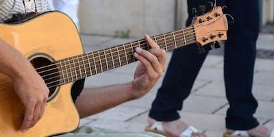 Cours de guitare - débutant (Jeudi de 12h à 13 h)