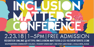 INCLUSION MATTERS CONFERENCE~PART III
