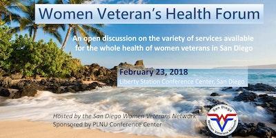 Women Veteran's Health Forum