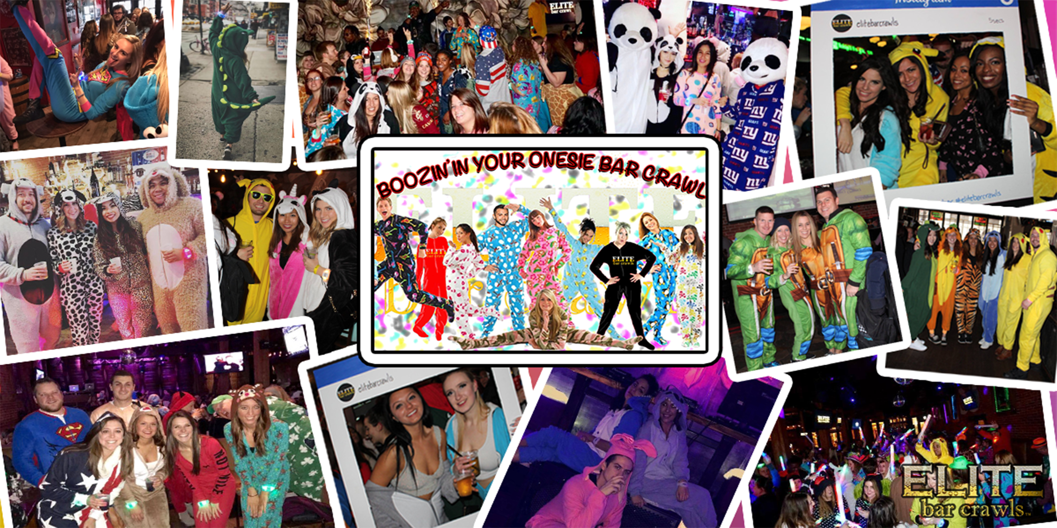 Boozin' In Your Onesie Bar Crawl - Syracuse,