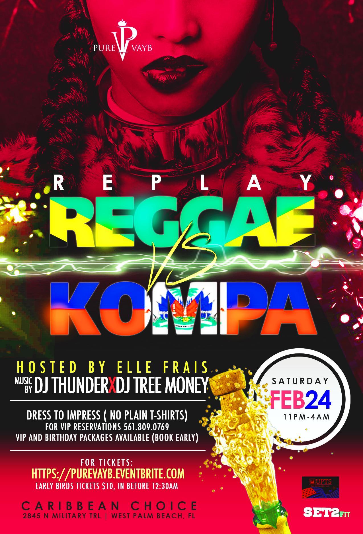 Pure Vayb Replay (Reggae vs Kompa)