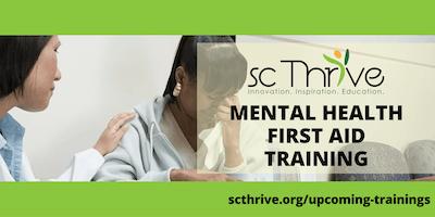 Upcoming Trainings Sc Thrive
